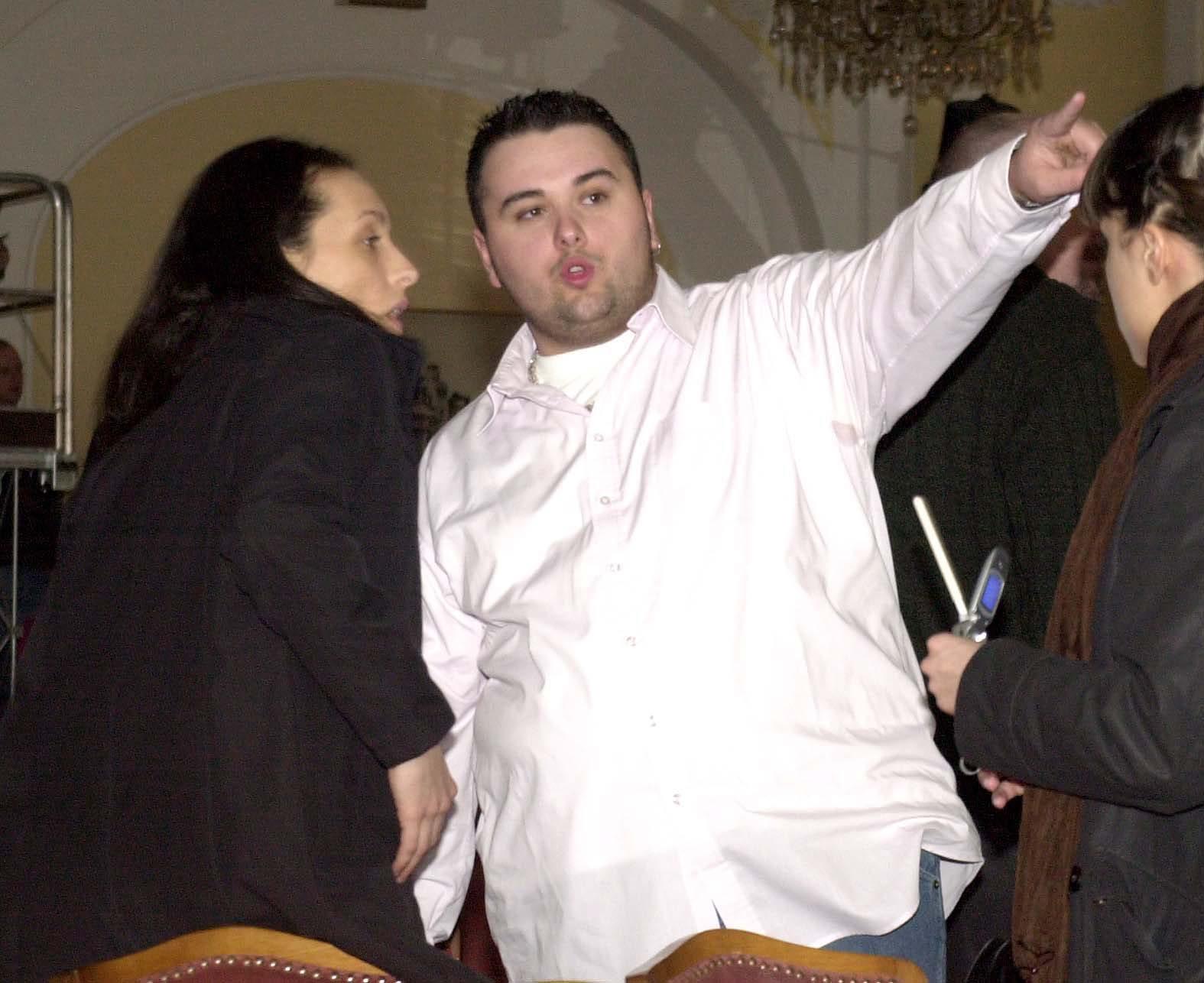 opatija,120304 dora    jacques houdek na probi u hotelu kvarner foto zeljko sop -ziv-