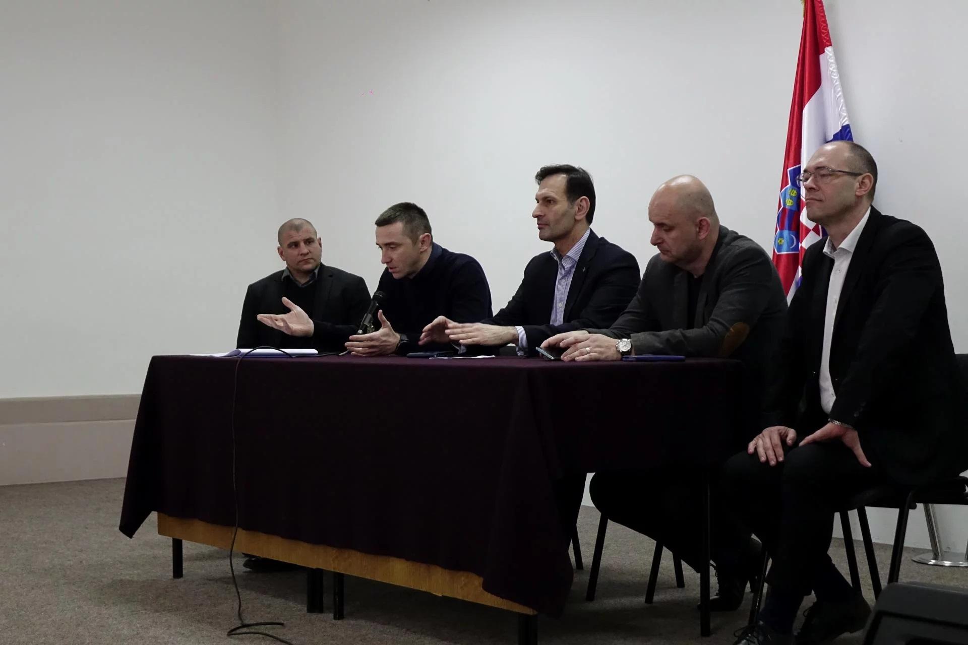 Ivan Penava, Miro Kovač, Tomislav Tolušić i Davor Ivo Stier