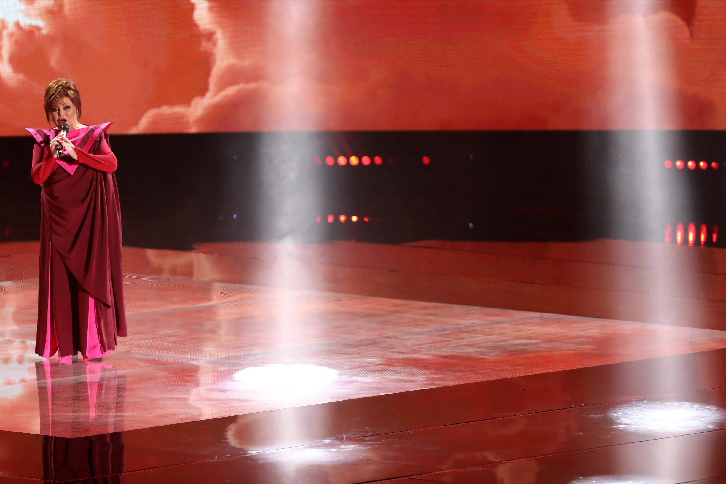 Opatija, 290220. Sportska dvorana Marino Cvetkovic. Glazbeni dani HRT-a u Opatiji. Dora, izbor za pjesmu Eurovizije. Na fotografiji: Zdenka Kovacicek. Foto: Matija Djanjesic / CROPIX