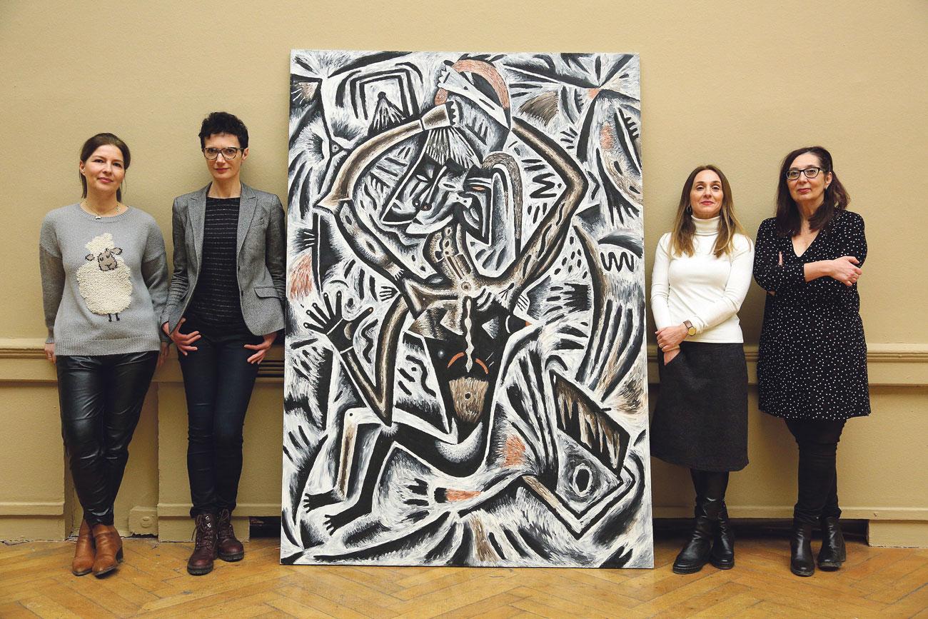 Arhitektica Morana Vlahović autorica je postava, a autorice izložbe su kustosice Ljerka Dulibić, Ivana Mance i Radmila Iva Janković