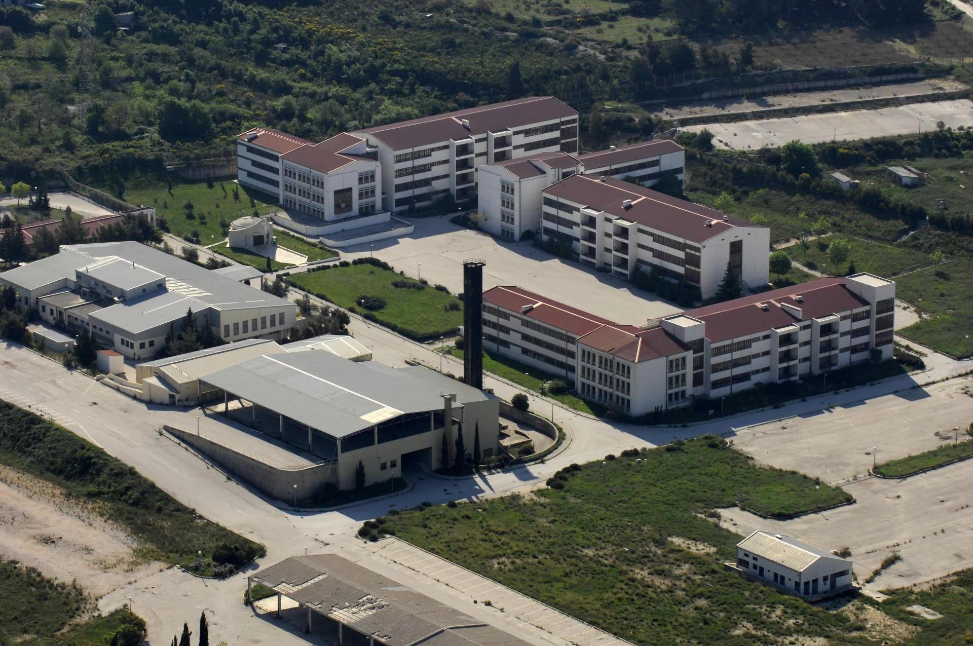 Bivša vojarna u Splitu iz zraka