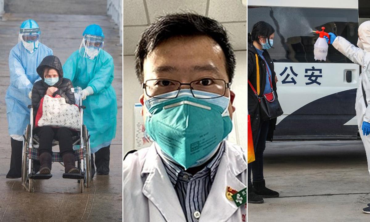 Liječnik iz Wuhana Li Wenliang