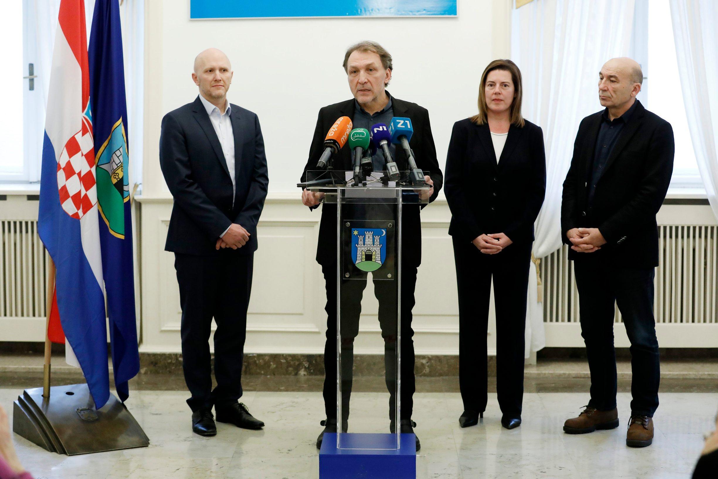 Na fotografiji: Renato Petek, Marko Torjanac, Marijana Sumpor, Tihomir Milovac
