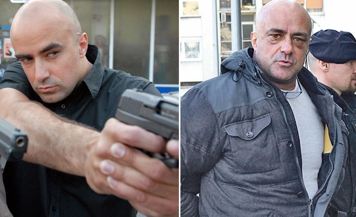 Leon Lučić u seriji 'Krim tim 2' (lijevo) i danas (desno)