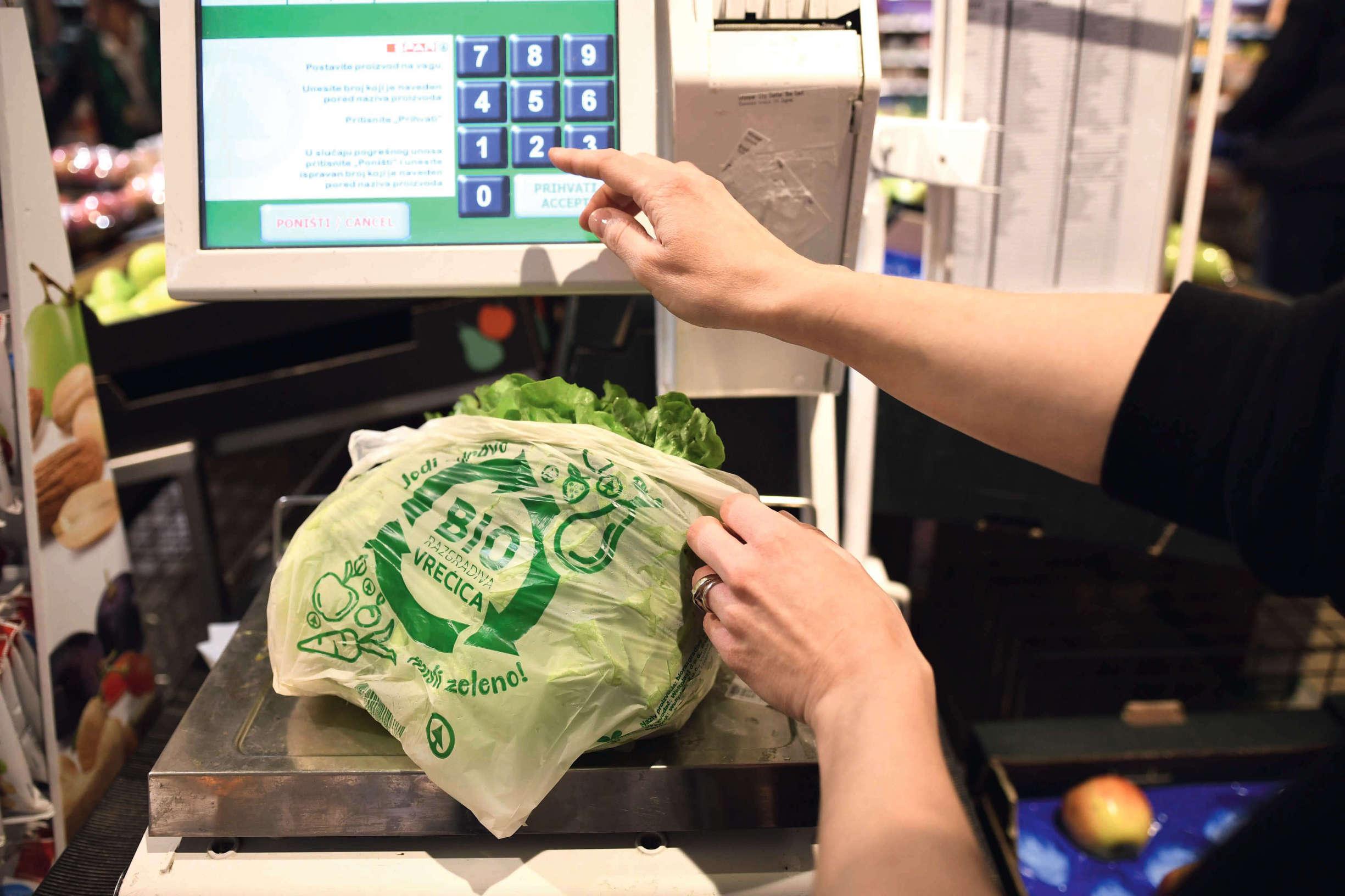 Biorazgradive vrećice sve su češća opcija hrvatskih potrošača