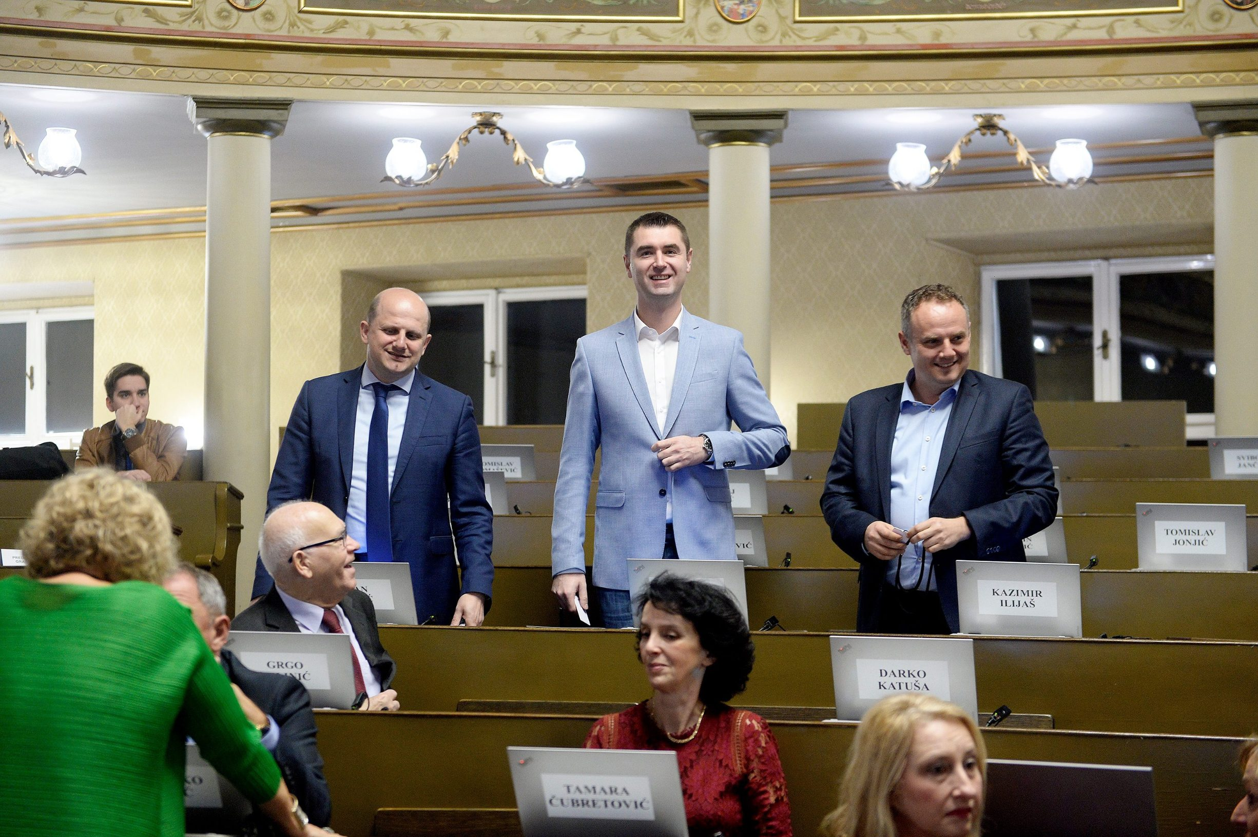 Ivan Ćelić, Davor Filipović, Kazimir Ilijaš