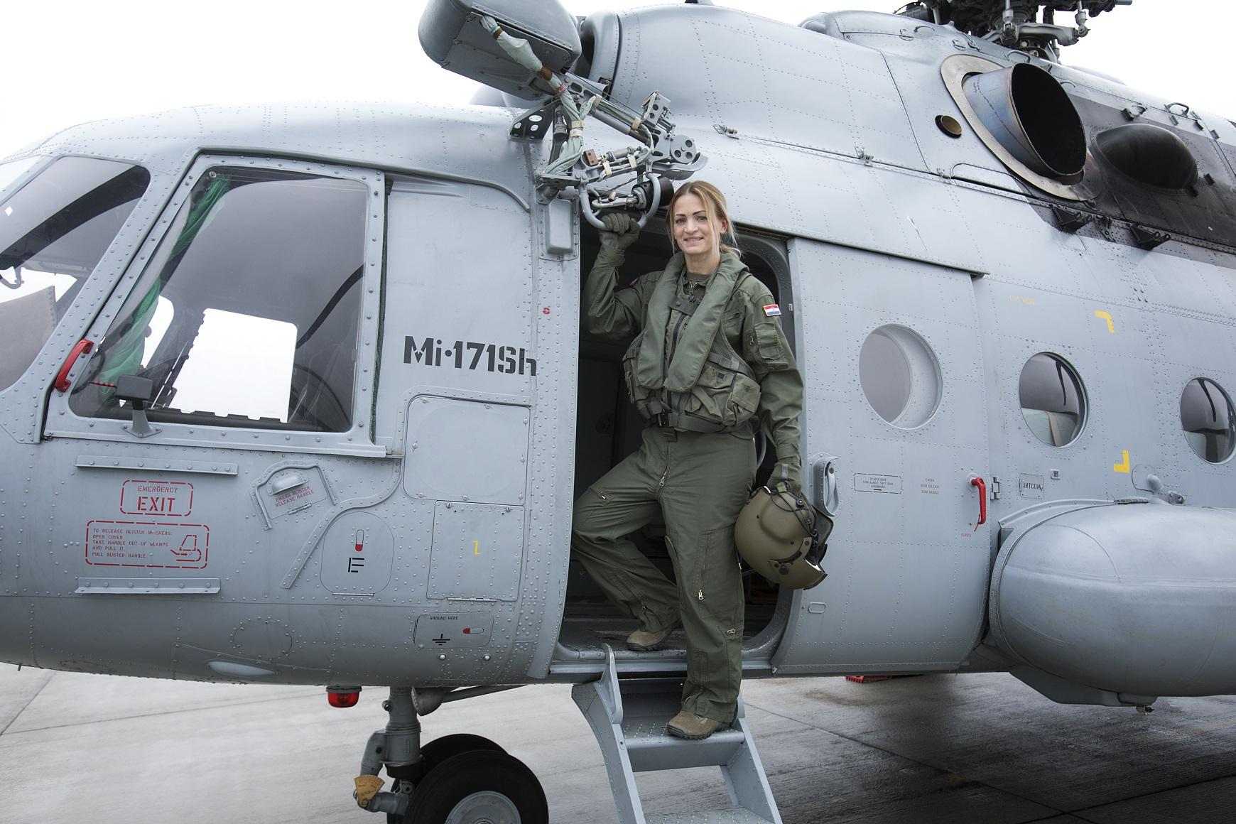 Satnica Antonija ima više od 1400 sati letačkog iskustva te je obučila generacije mladih vojnih pilota.