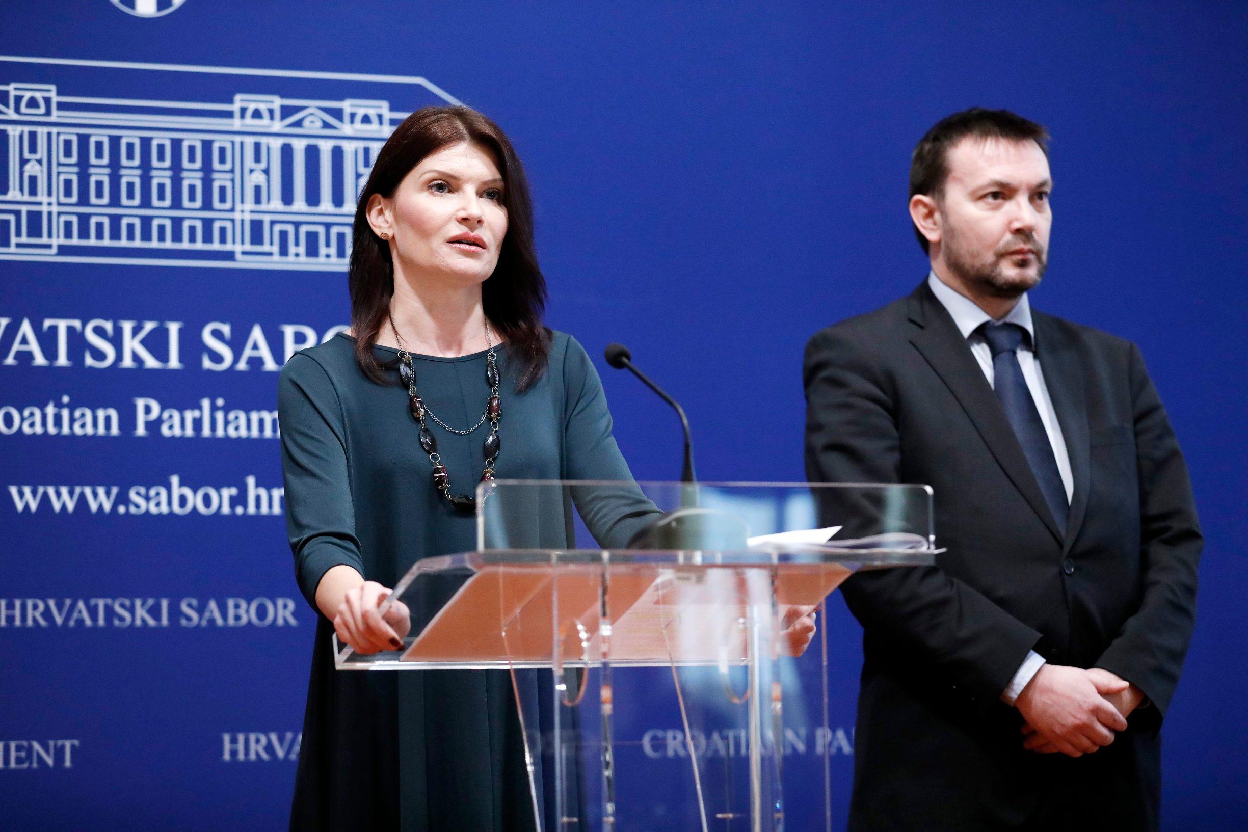 Sabina Glasovac i Arsen Bauk