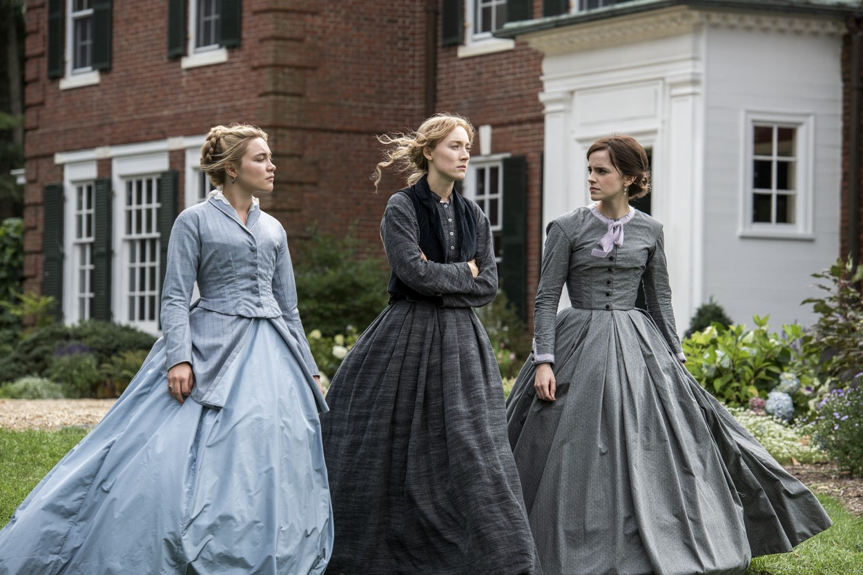 Florence Pugh, Saoirse Ronan i Emma Watson
