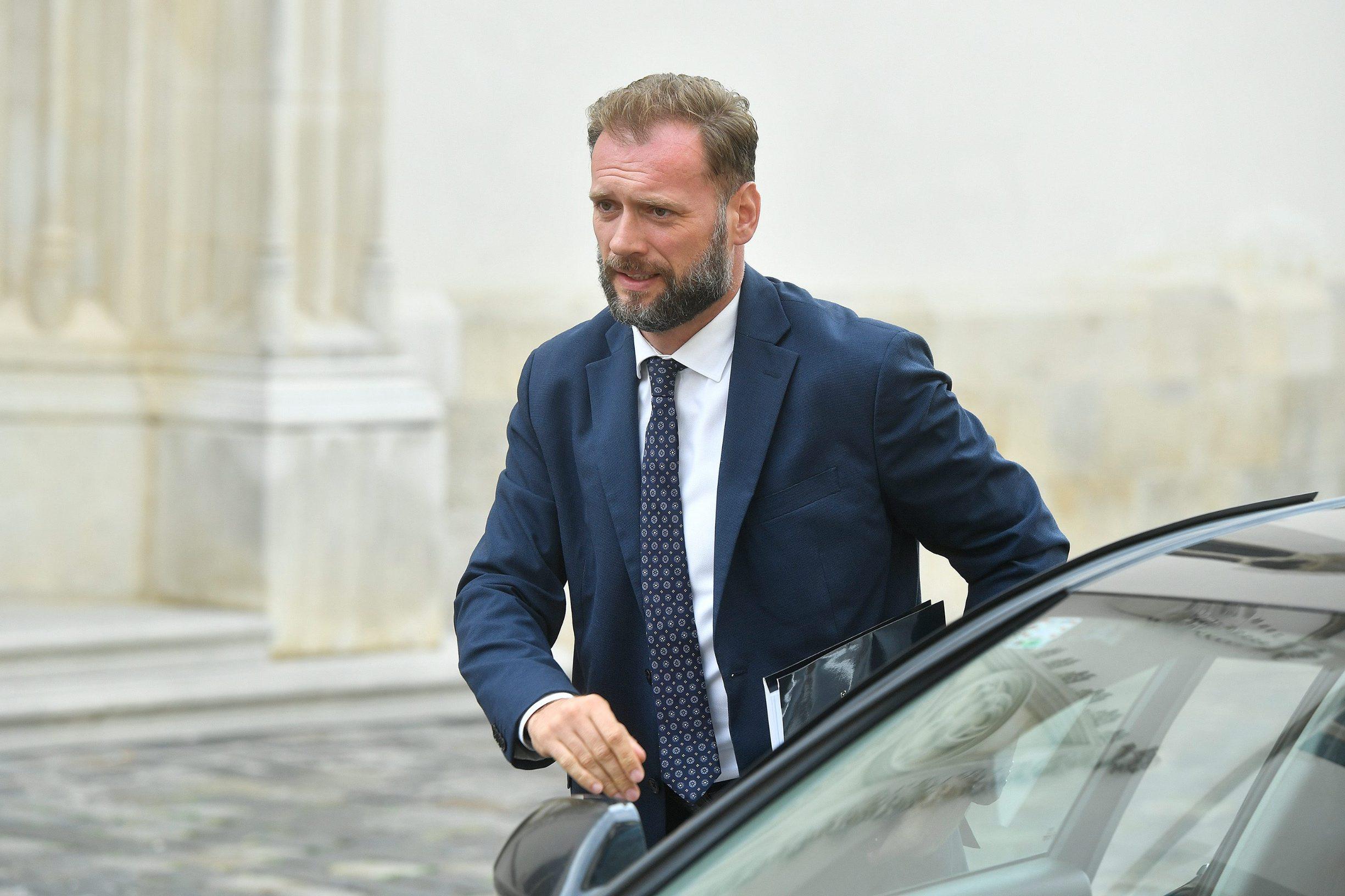 Mario Banožić, ministar državne imovine