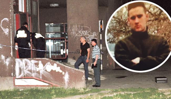 Policiju su tragovi s mjesta zločina doveli do Tomislava Base (u krugu)