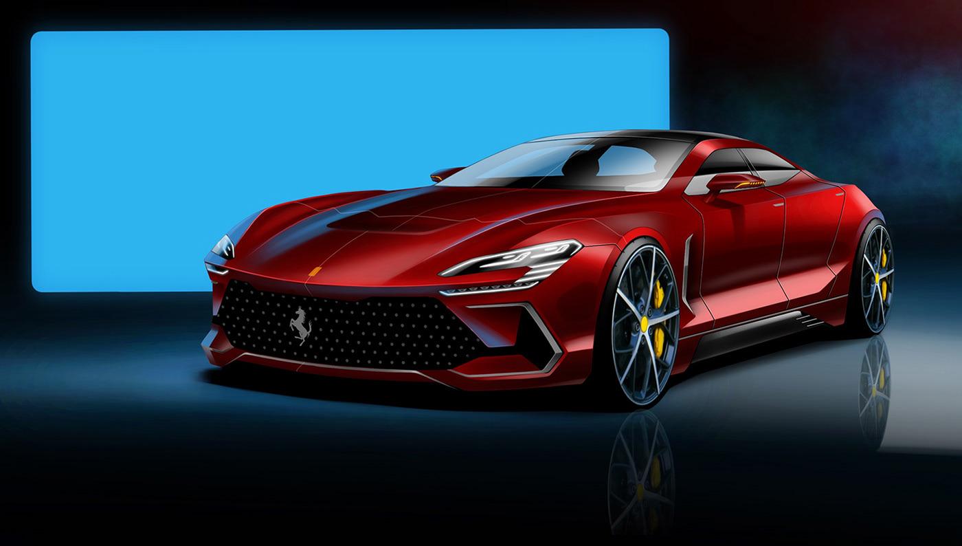 ferrari-f9-four-door-super-sedan-rendered-rivals-porsches-panamera-140854_1