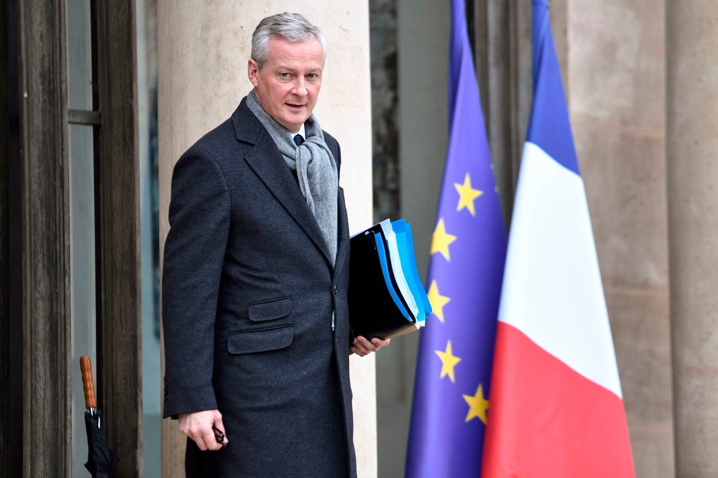 Francuski ministar gospodarstva Bruno Le Maire