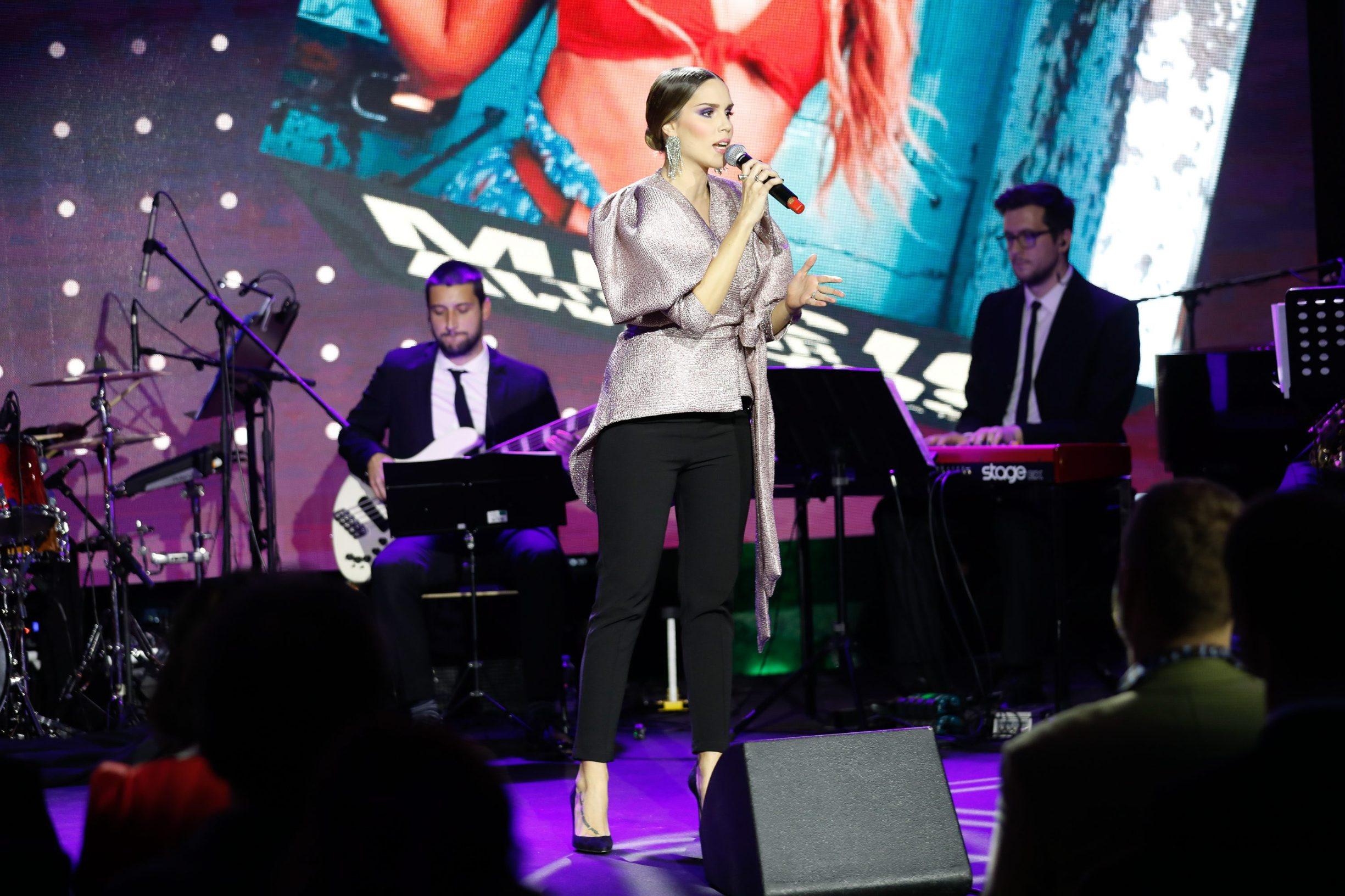 Zagreb, 060220. Hotel Esplanade. Dodjela glazbenih nagrada Top.HR Music Awards.  Na fotografiji: Franka Batelic.  Foto: Marko Todorov / CROPIX
