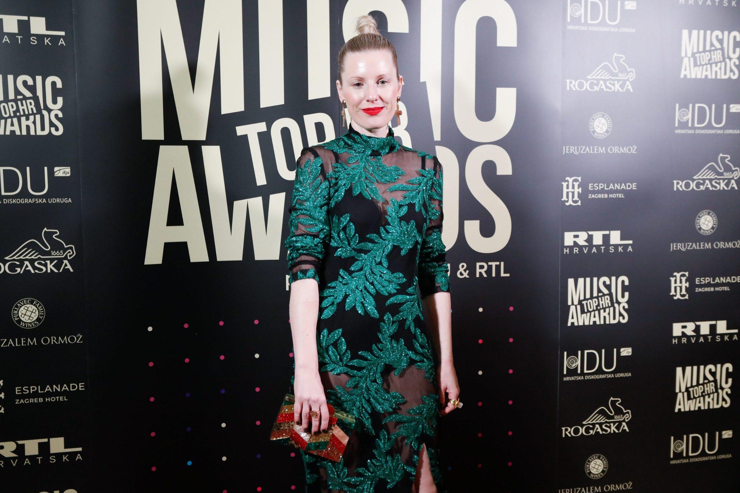 Zagreb, 060220. Hotel Esplanade. Dodjela glazbenih nagrada Top.HR Music Awards.  Na fotografiji: Ida Prester.  Foto: Marko Todorov / CROPIX