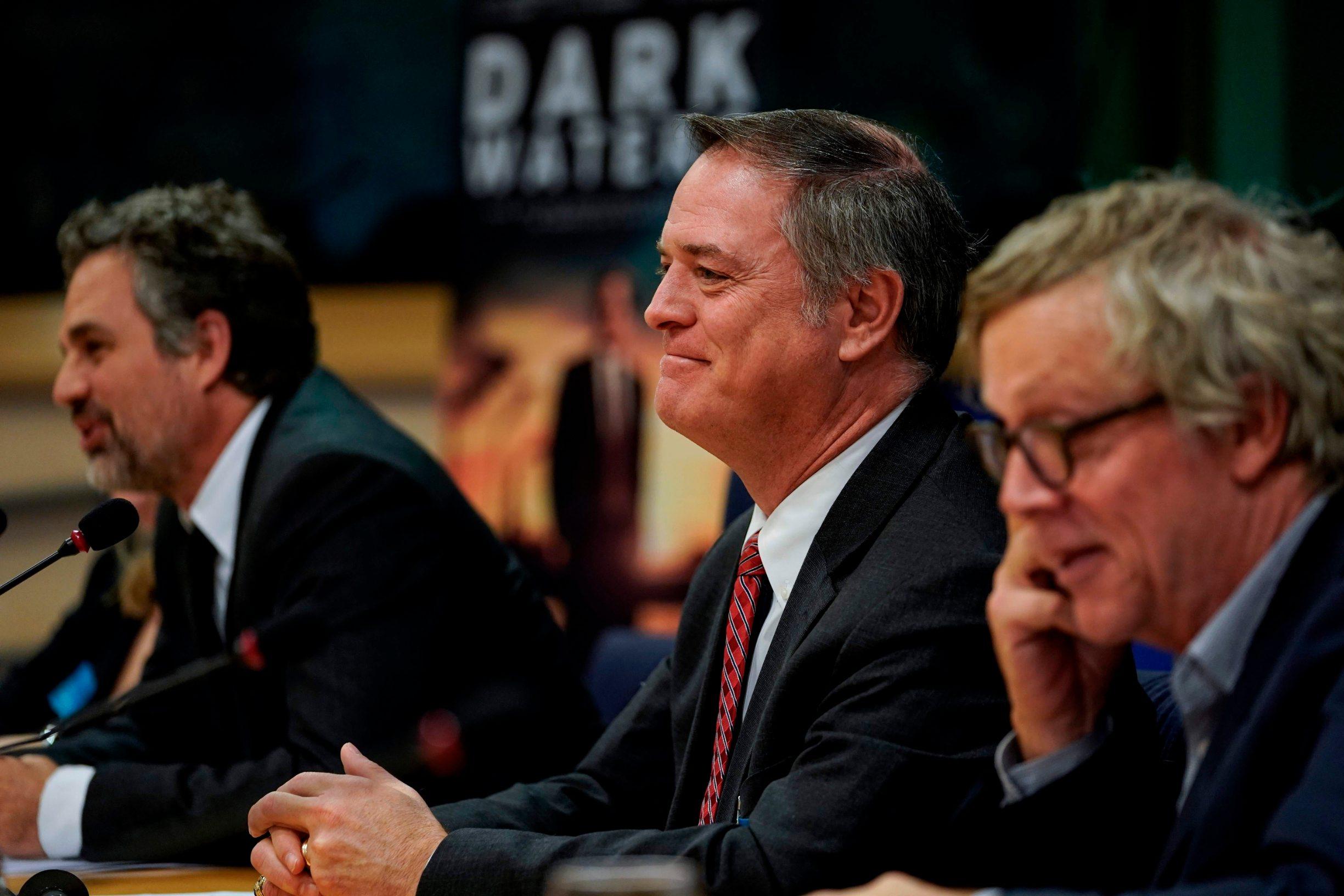 US lawyer Robert Bilott attends a European Parliament Committee's public hearing on February 5, 2020. (Photo by Kenzo TRIBOUILLARD / AFP)