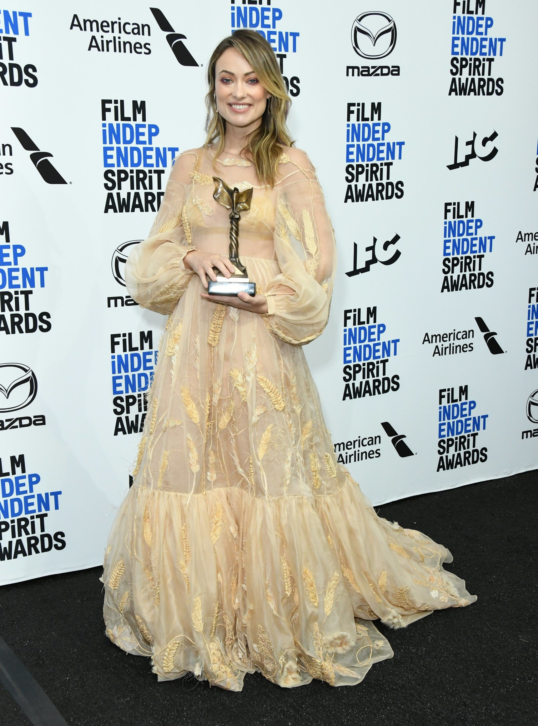 Olivia Wilde 35th Annual Film Independent Spirit Awards, Press Room, Los Angeles, USA - 08 Feb 2020, Image: 497303218, License: Rights-managed, Restrictions: , Model Release: no, Credit line: MediaPunch / Shutterstock Editorial / Profimedia