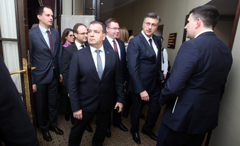 Ivan Malenica, Vili Beroš, Marko Pavić, Andrej Plenković