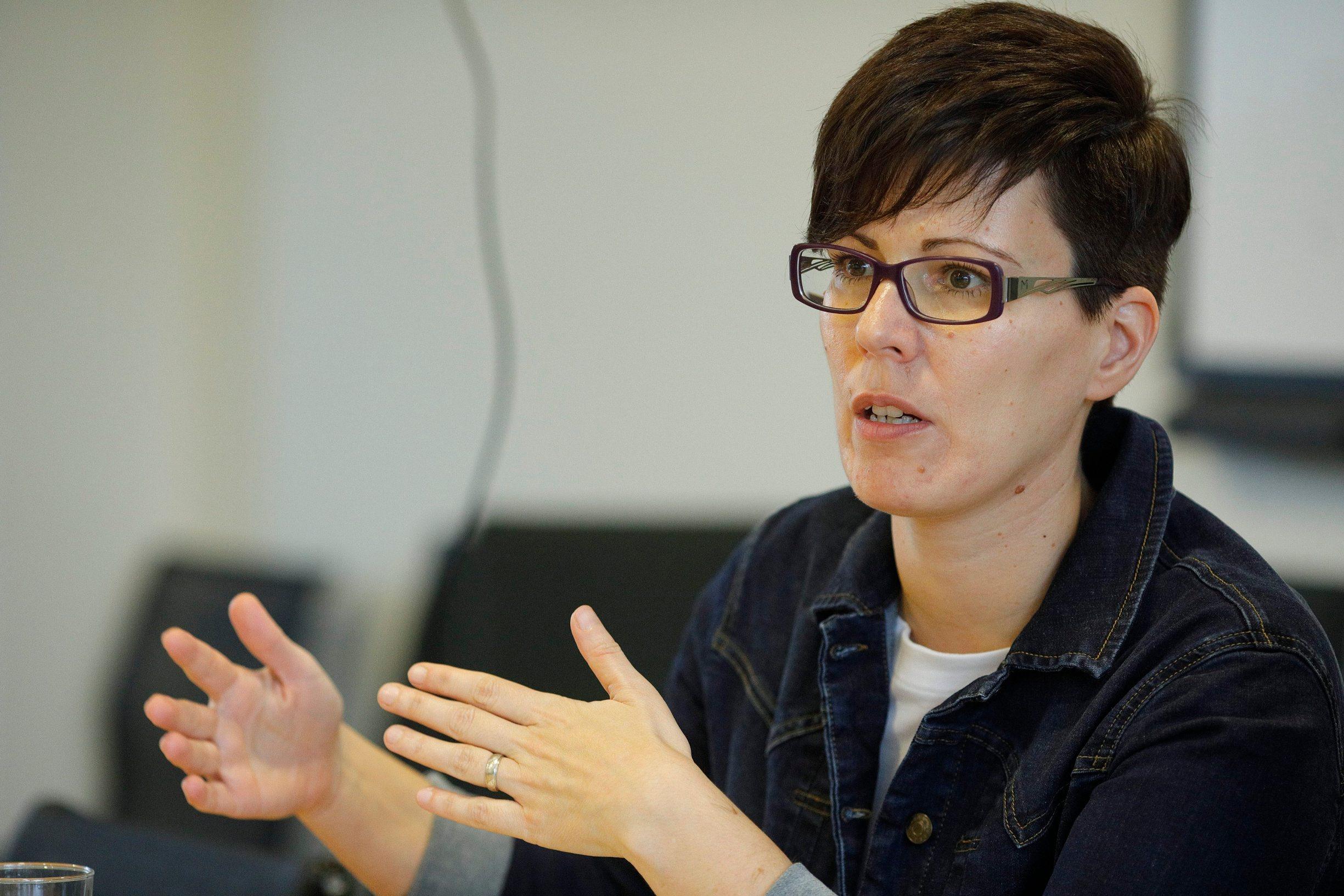 Zagreb, 240220. Okrugli stol Subvencionirani stambeni krediti, konferencijska dovrana Hanza Media. Na fotografiji: Maruska Vizek. Foto: Dragan Matic / CROPIX