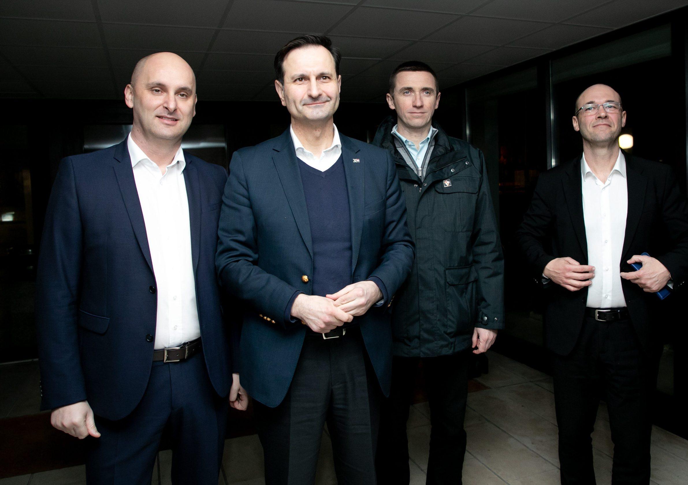 Tomislav Tolušić, Miro Kovač, Ivan Penava, Davor Ivo Stier