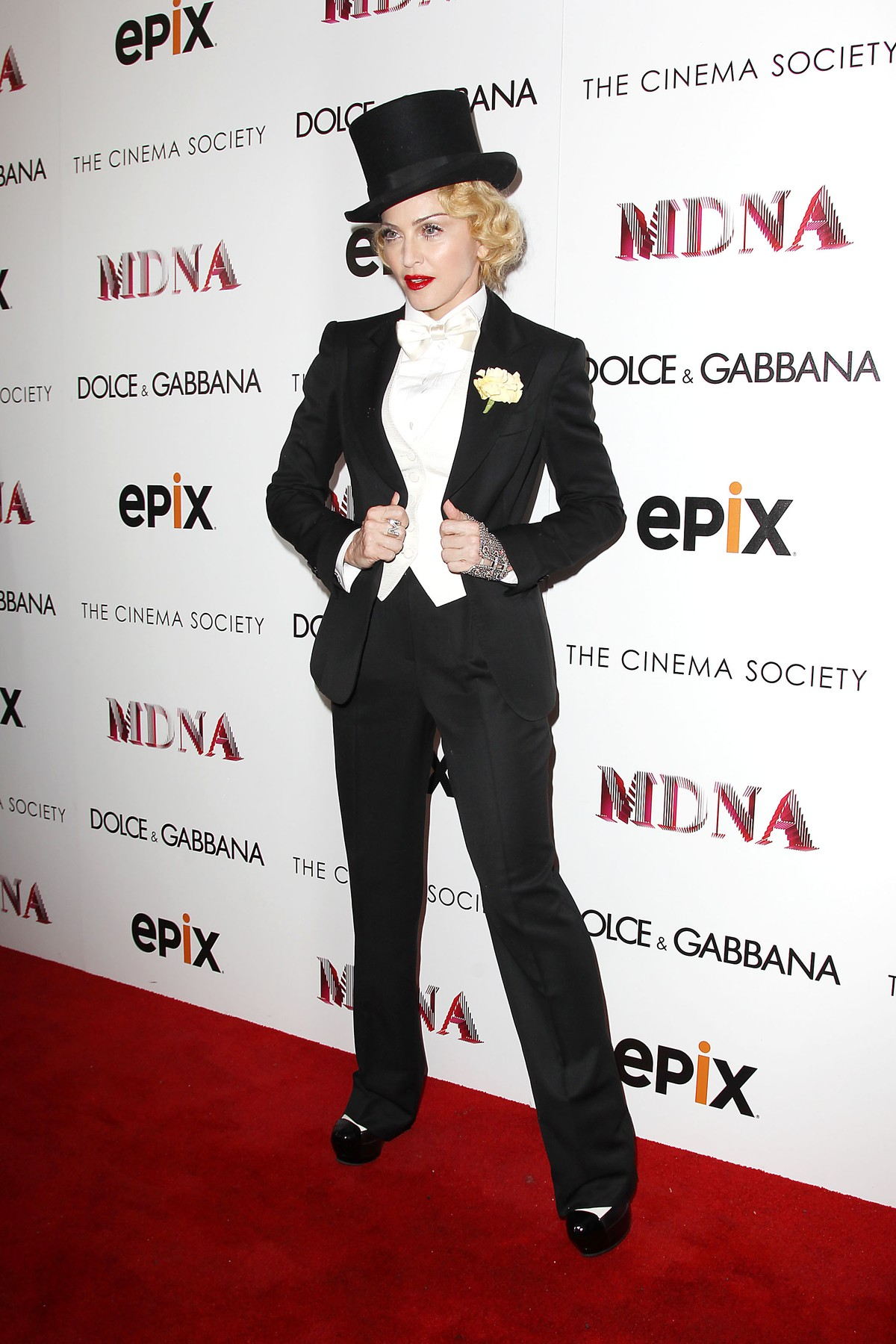 -New York, NY - 06/18/2013 - Dolce & Gabbana and The Cinema Society Present the Epix World Premiere of Madonna: the MDNA Tour.   -PICTURED: Madonna -, Image: 164627972, License: Rights-managed, Restrictions: , Model Release: no, Credit line: Kristina Bumphrey / INSTAR Images / Profimedia