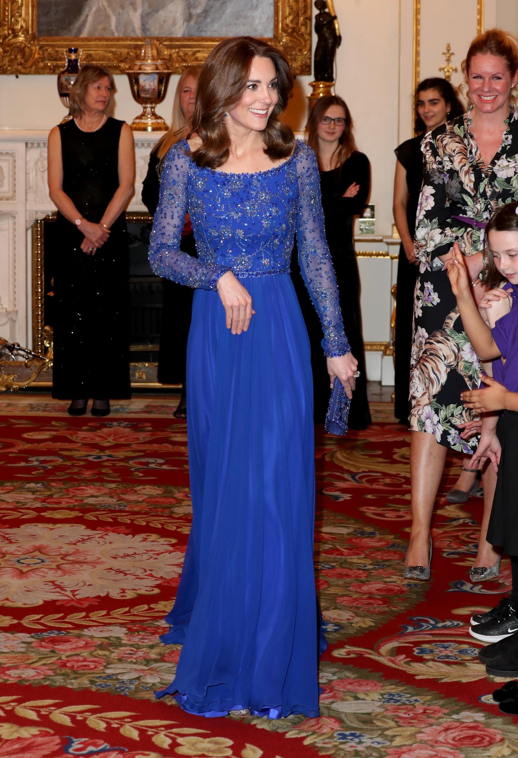 Vojvotinja od Cambridgea je haljinu dizajnerice Jenny Packham već nosila i to 2016. tijekom posjeta Indiji.