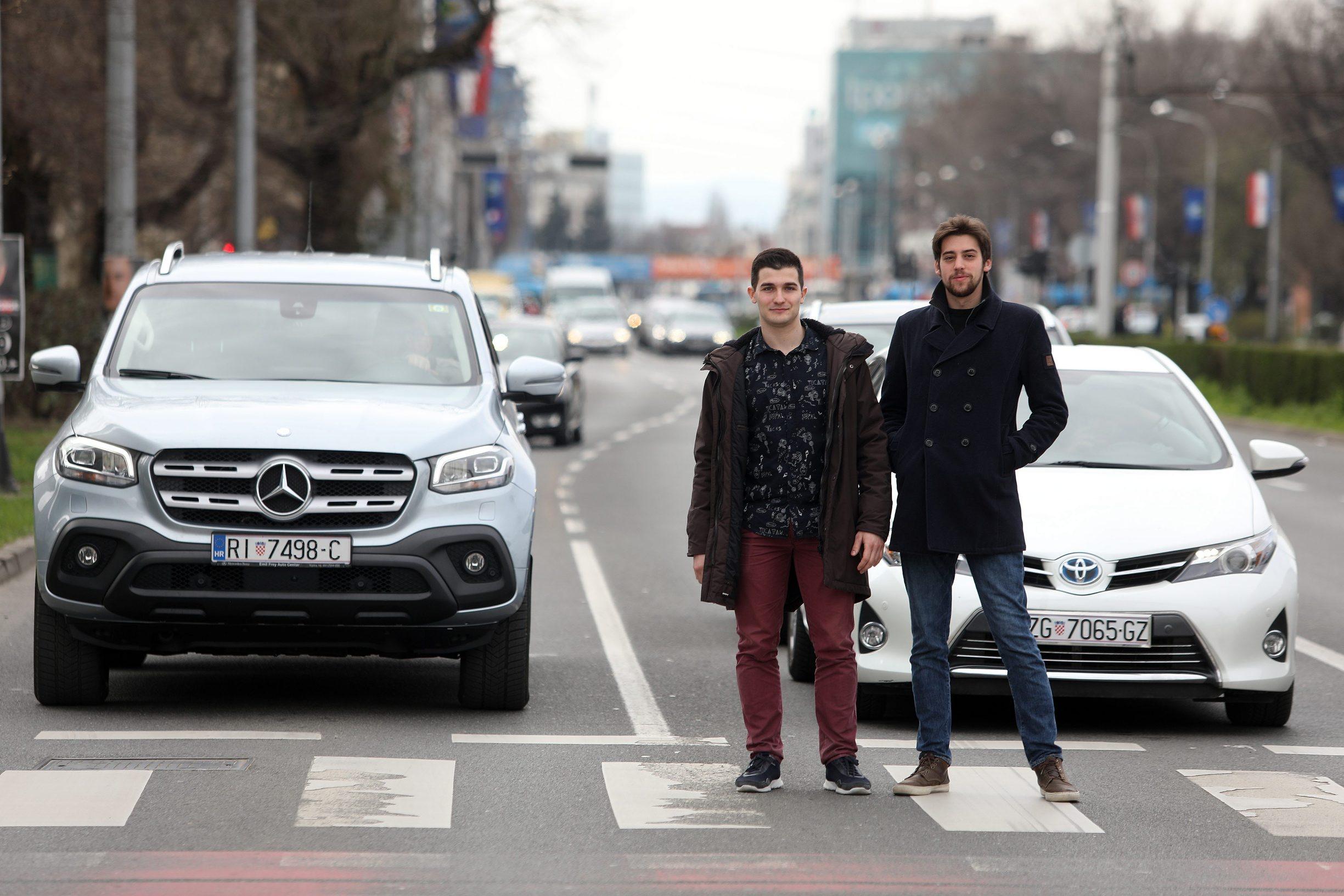 Anton Kontić i Luka Košćak, tim Smart Traffic