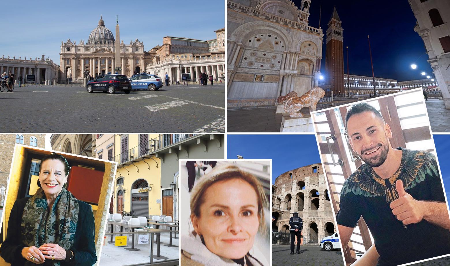 Prizori iz Italije tijekom karantene i Hrvatice i Hrvati koji tamo žive i rade