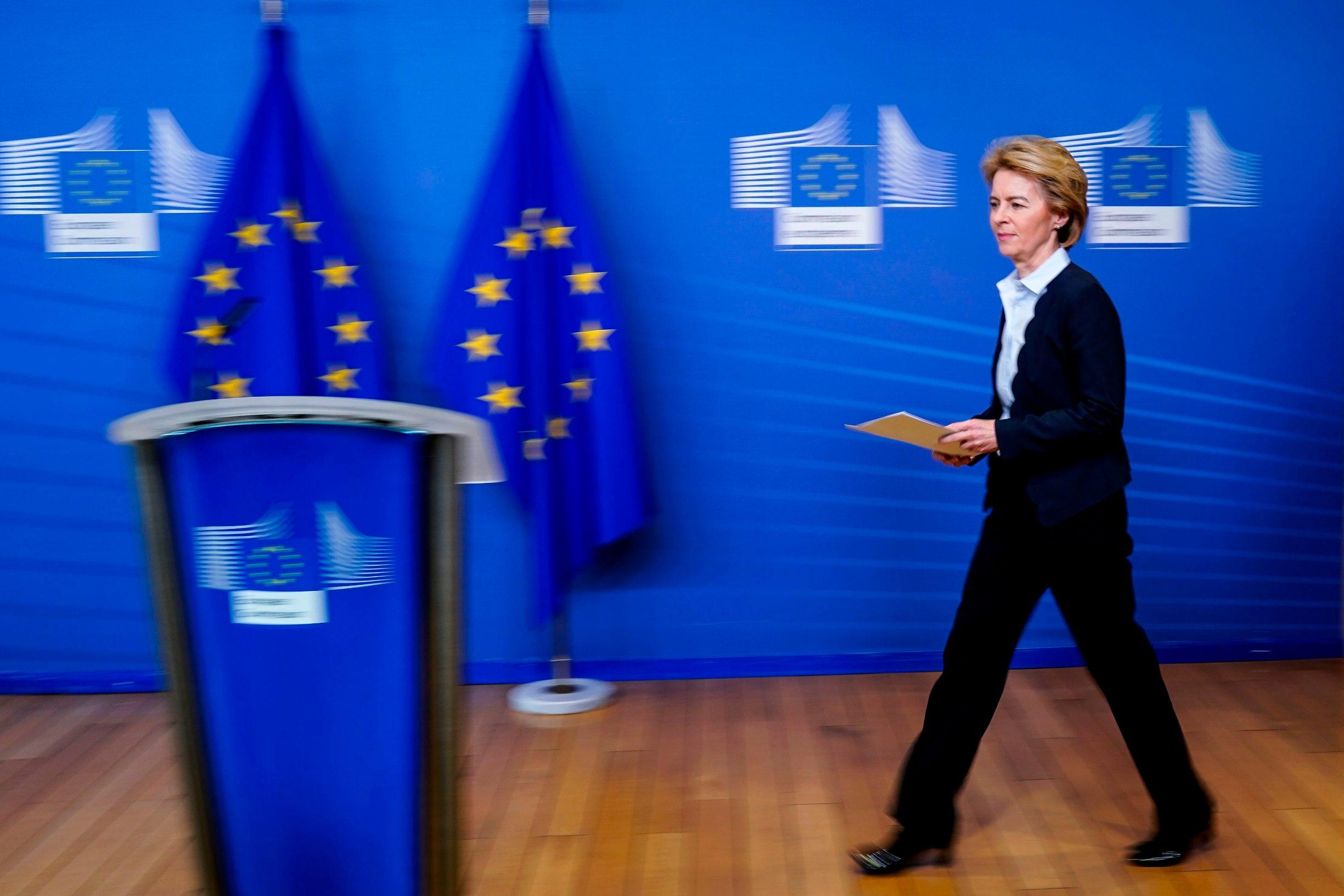 Predsjednica Europse komisije Ursula von der Leyen