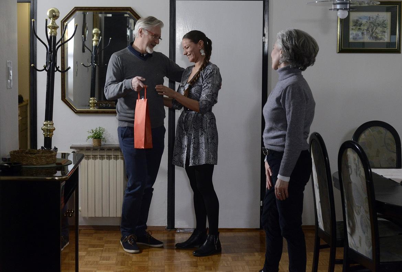 Zagreb, 040320 RTL TV, snimanje serije Krv nije voda. Foto: Bruno Konjevic / CROPIX