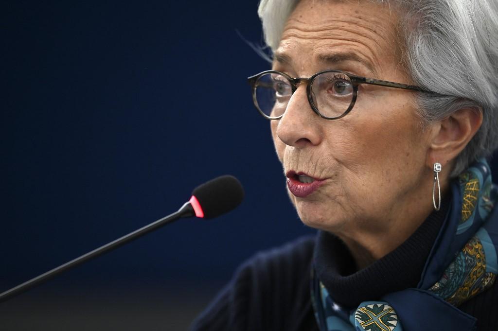 Predsjednica Europske središnje banke Christine Lagarde