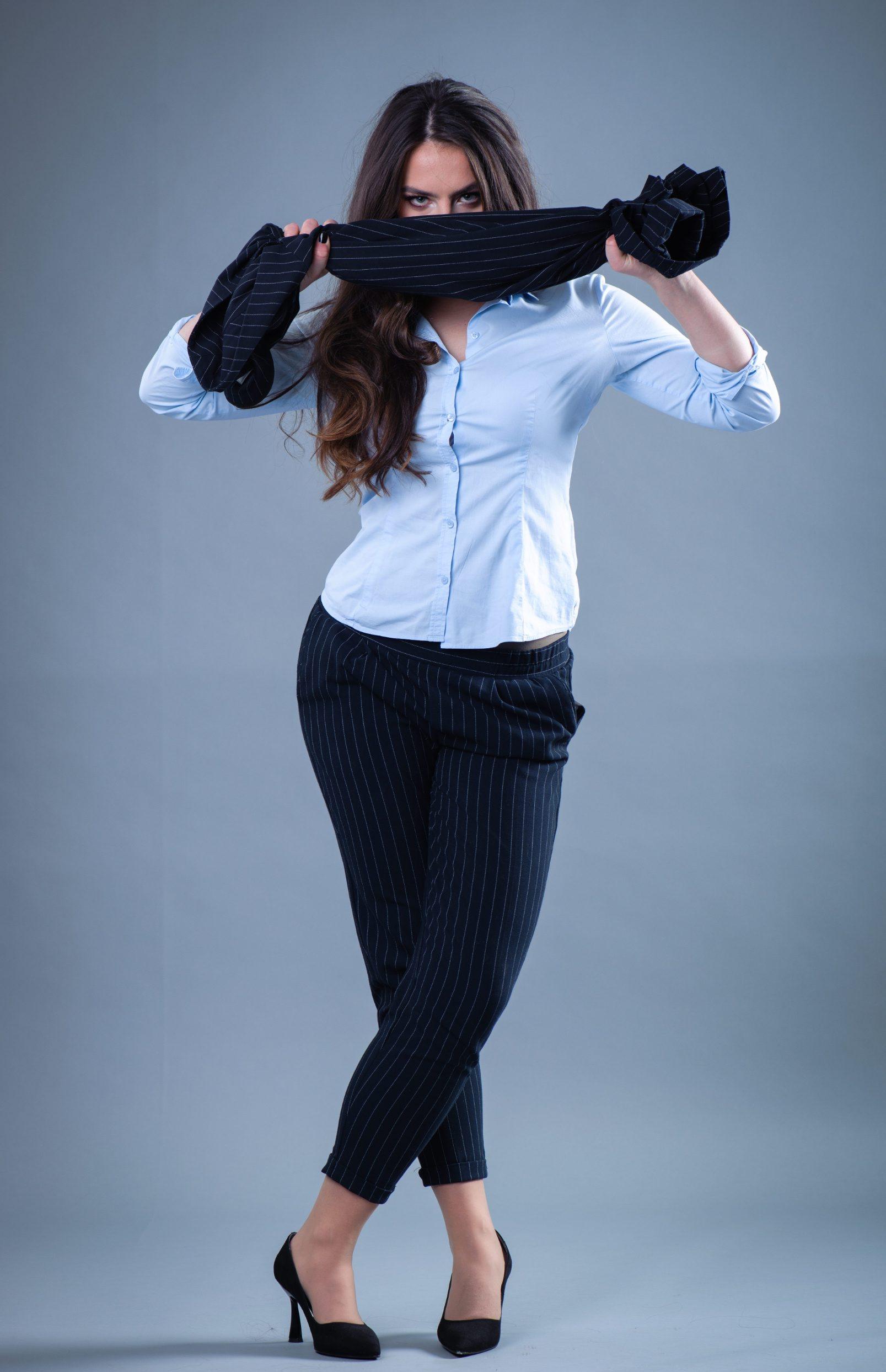 Splitz, 100320 Ana Ursula Najev, studentica glume na Umjetnickoj akademiji u Splitu. Foto: Tom Dubravec / CROPIX