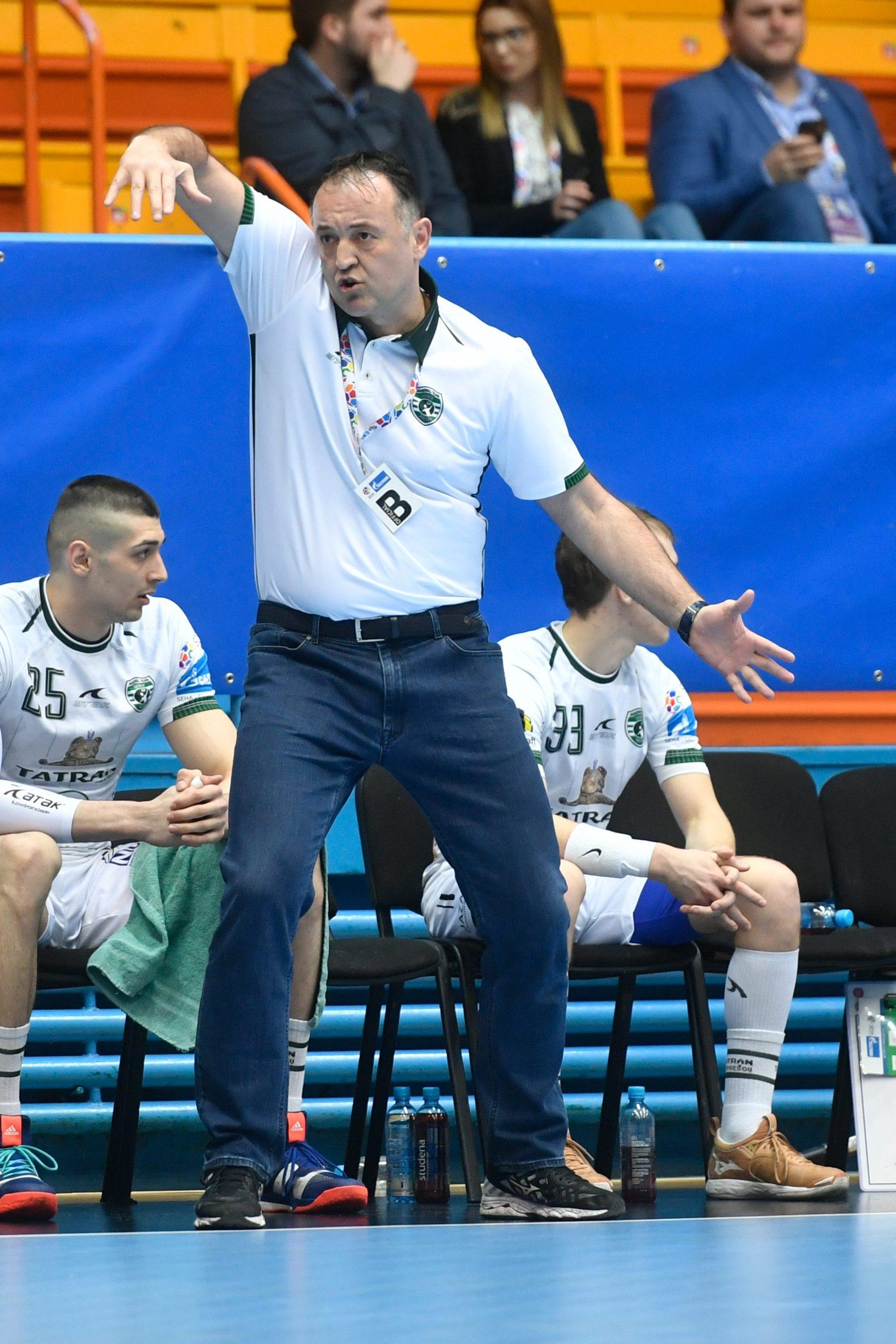 Slavko Goluža, trener Tatrana