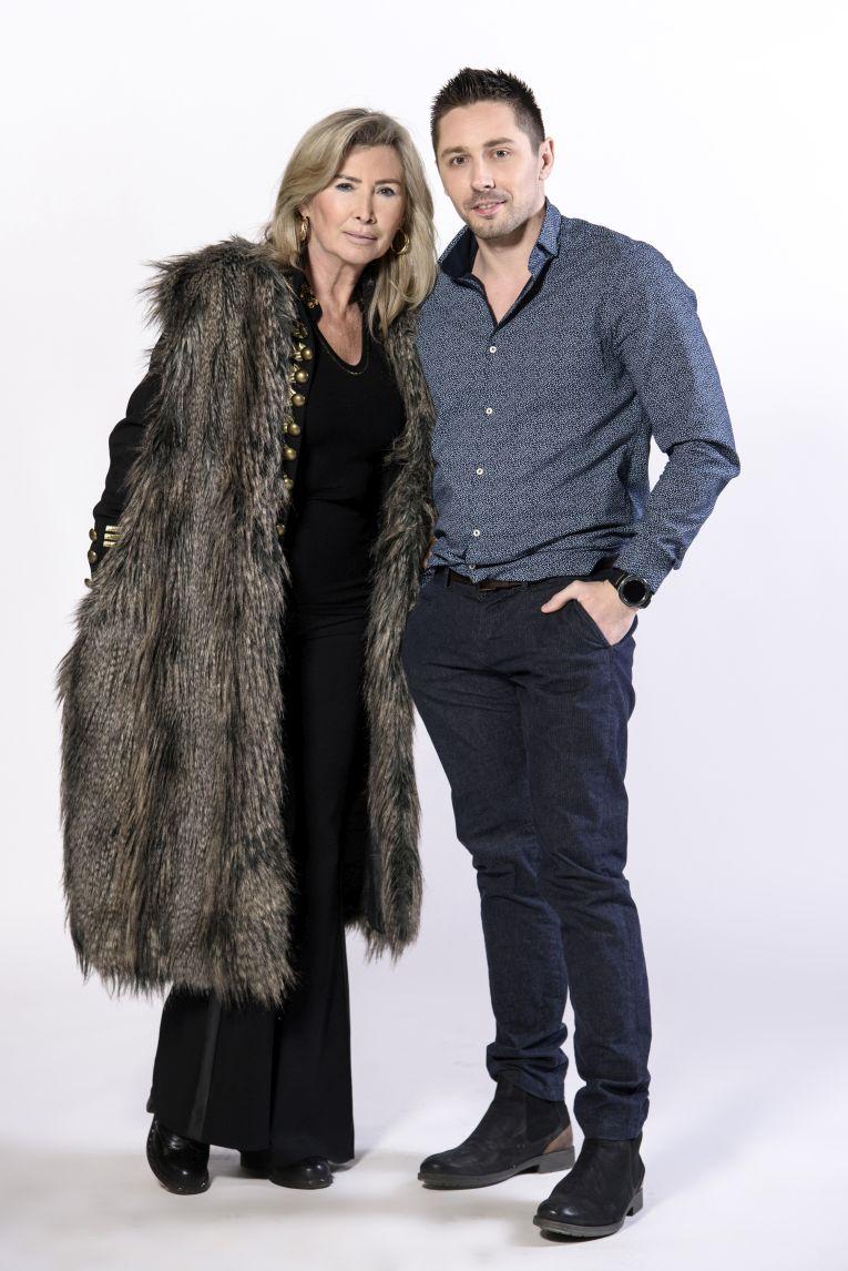 Sebastian Popović s majkom Sanja Bjedov Popović