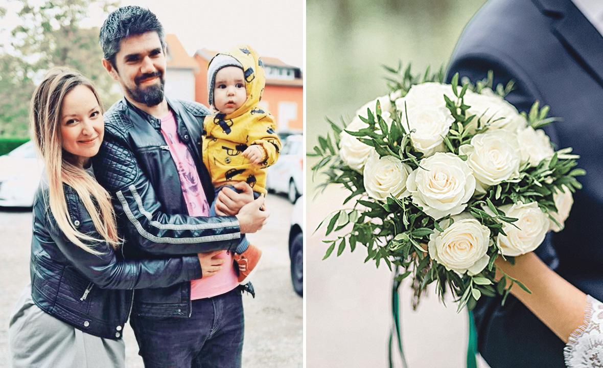 """Food blogerica Marijana Zlomislić, koja stoji iza bloga """"Un mondo di sapori"""", i njezin budući suprug Ivan Perak sa svojim djetetom vjenčat će se u svibnju"""