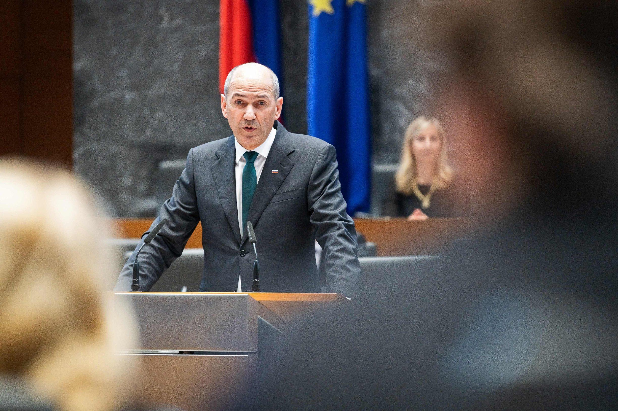 New Slovenian PM Janez Janša