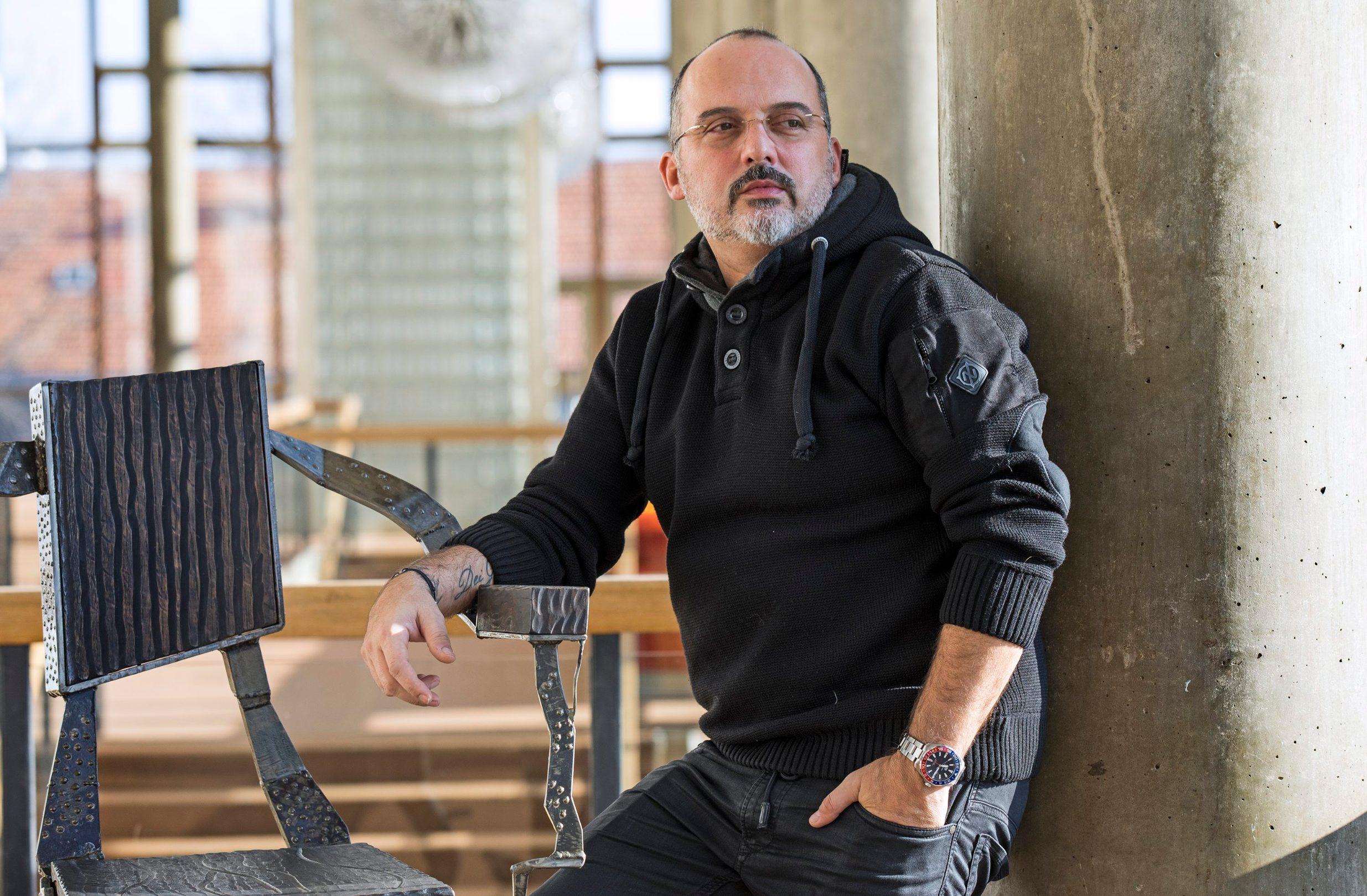 Tony Cetinski uoči humanitarnog koncerta 'Moja učiteljica zove se nada' krajem 2017. godine u Lisinskom.