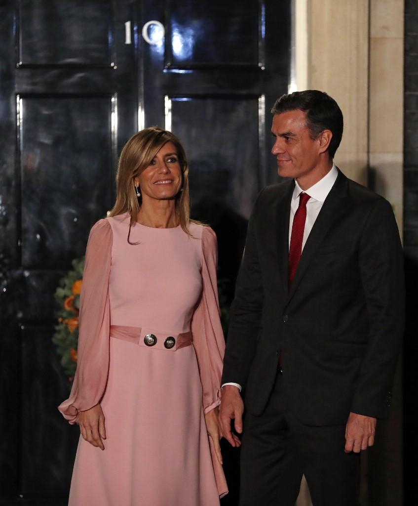 Maria Begona Gomez Fernandez i Pedro Sanchez