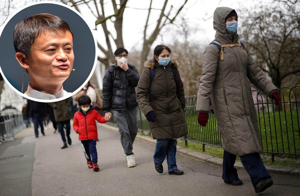 Jack Ma, multimilijarder i suosnivač Alibabe