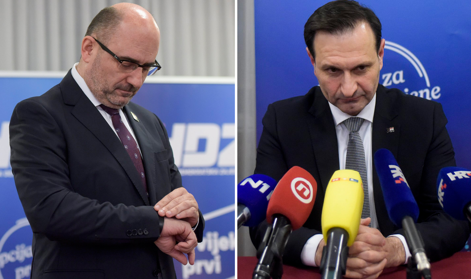 Milijan Brkić i Miro Kovač