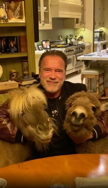 Arnold Schwarzenegger s ljubimcima