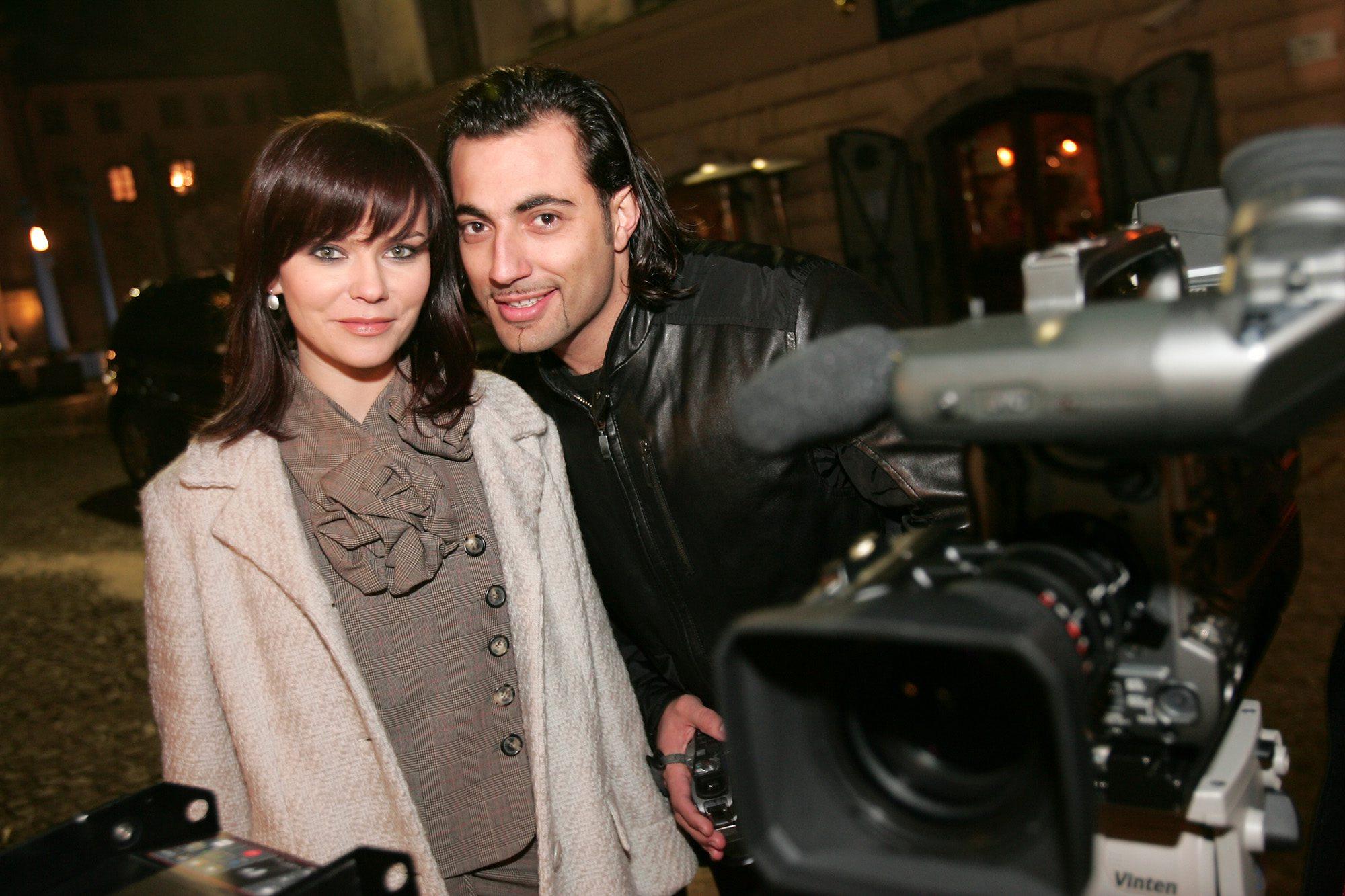 ljubljana 200106 vesna pisarovic i hamdija seferovic snimaju spot foto:davor pongracic -zs-