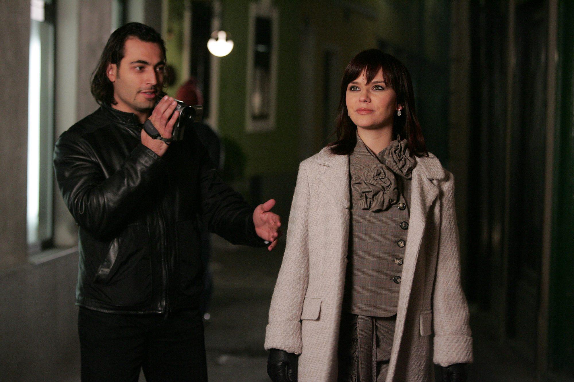 Vesna Pisarović i Hamdija Seferović na snimanju spota 2006. godine