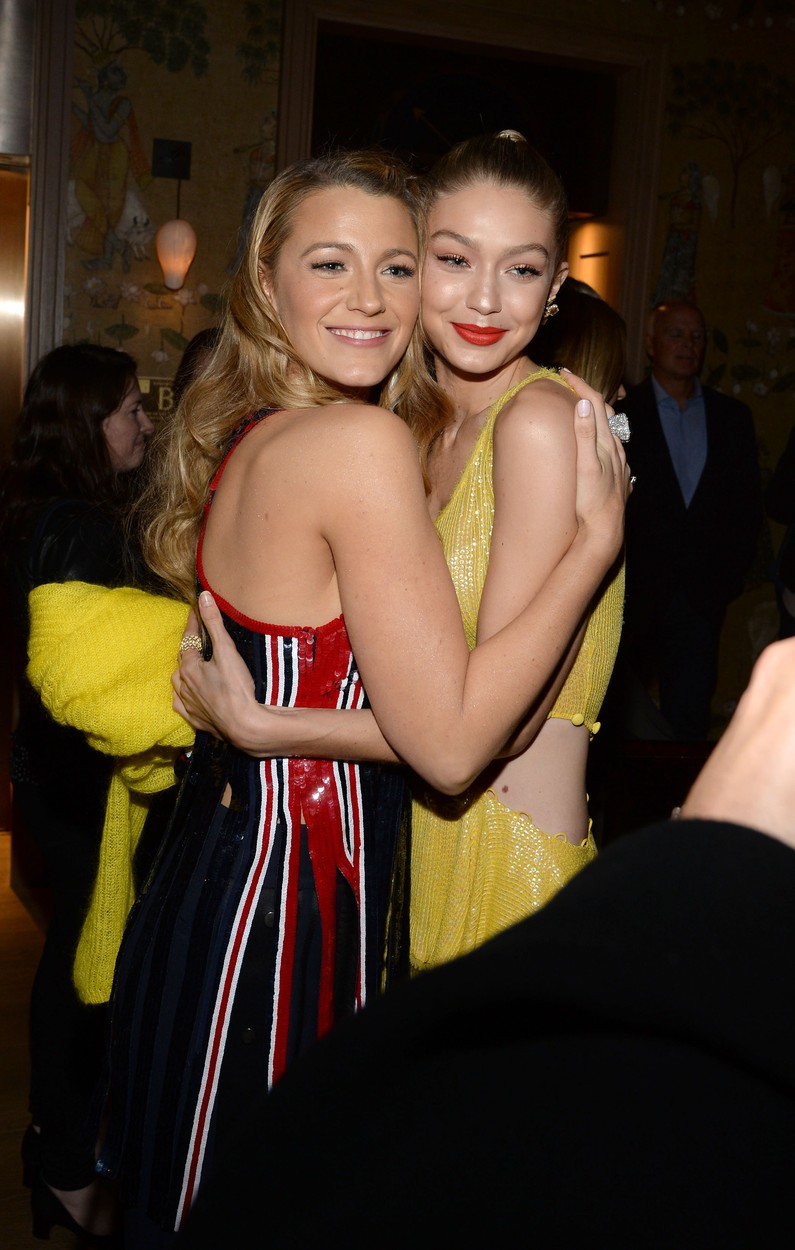 - New York, NY - 10/16/2017 - New York Screening of ALL I SEE IS YOU Starring Blake Lively   -PICTURED: Blake Lively,Gigi Hadid -, Image: 353235556, License: Rights-managed, Restrictions: , Model Release: no, Credit line: MICHAEL SIMON / INSTAR Images / Profimedia