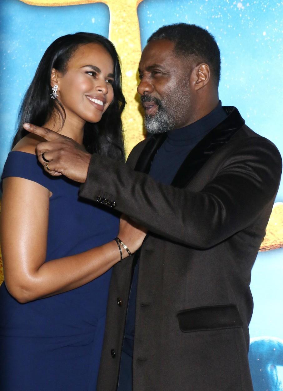 Idris Elba i supruga Sabrina