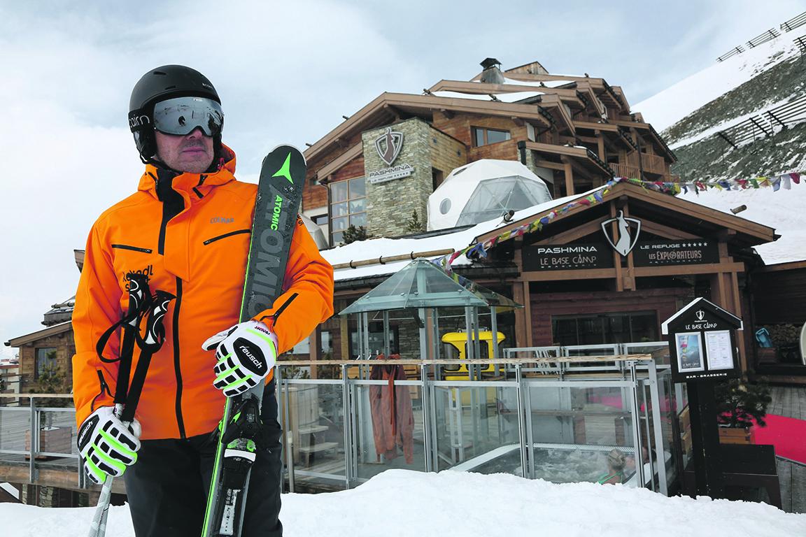 Val Thorens, Francuska, 040419.  Skijaliste Val Thorens. Foto: Marin Tironi