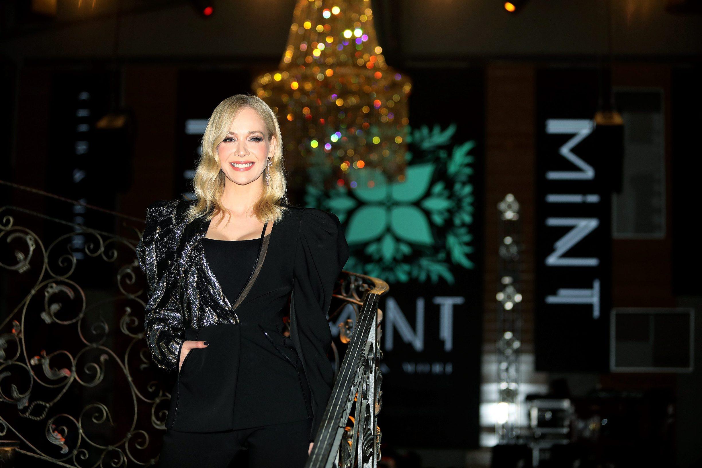 Jelena Rozga na otvorenju Mint cluba u Zagrebu krajem 2019. godine