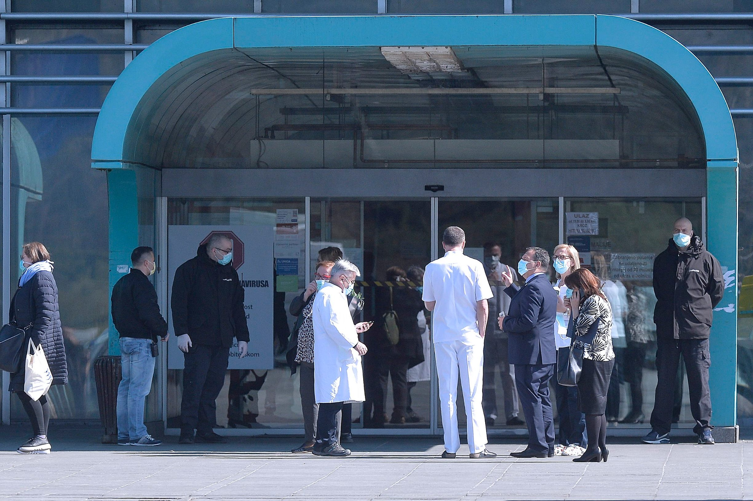 Zagreb, 160320. Bolnica Dubrava. Ministar Vili Beros dosao u posjet KB Dubrava. Na fotografiji: Vili Beros. Foto: Damir Krajac / CROPIX