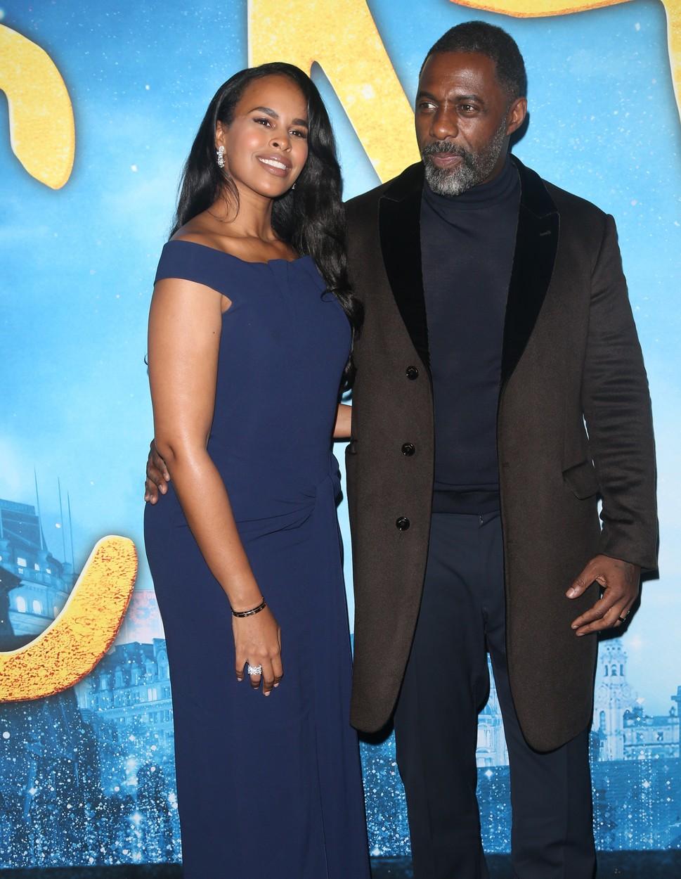 Idris Elba sa suprugom Sabrinom na premijeri mjuzikla Cats