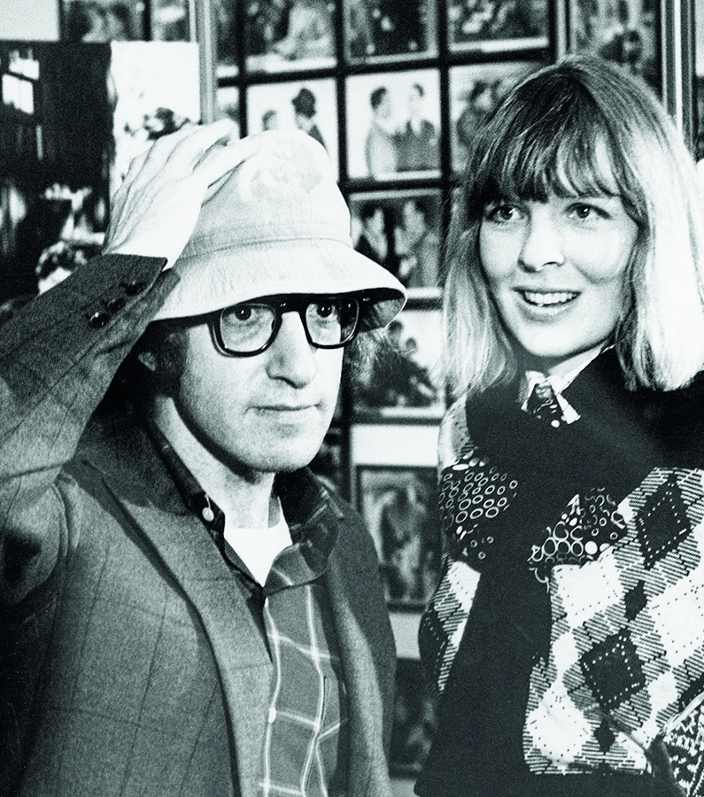 Woody Allen and Diane Keaton at the Lincoln Center in New York City, New York (Photo by Ron Galella/Ron Galella Collection via Getty Images)